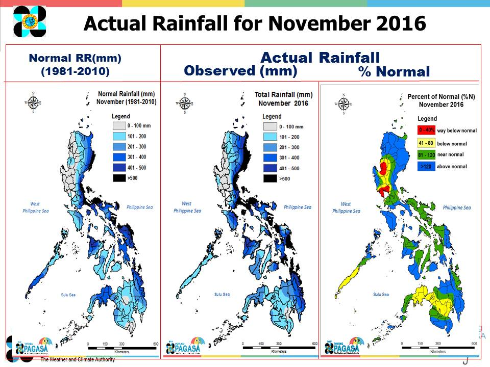 Climate Map Of The Philippines Pagasa Daily Rainfall