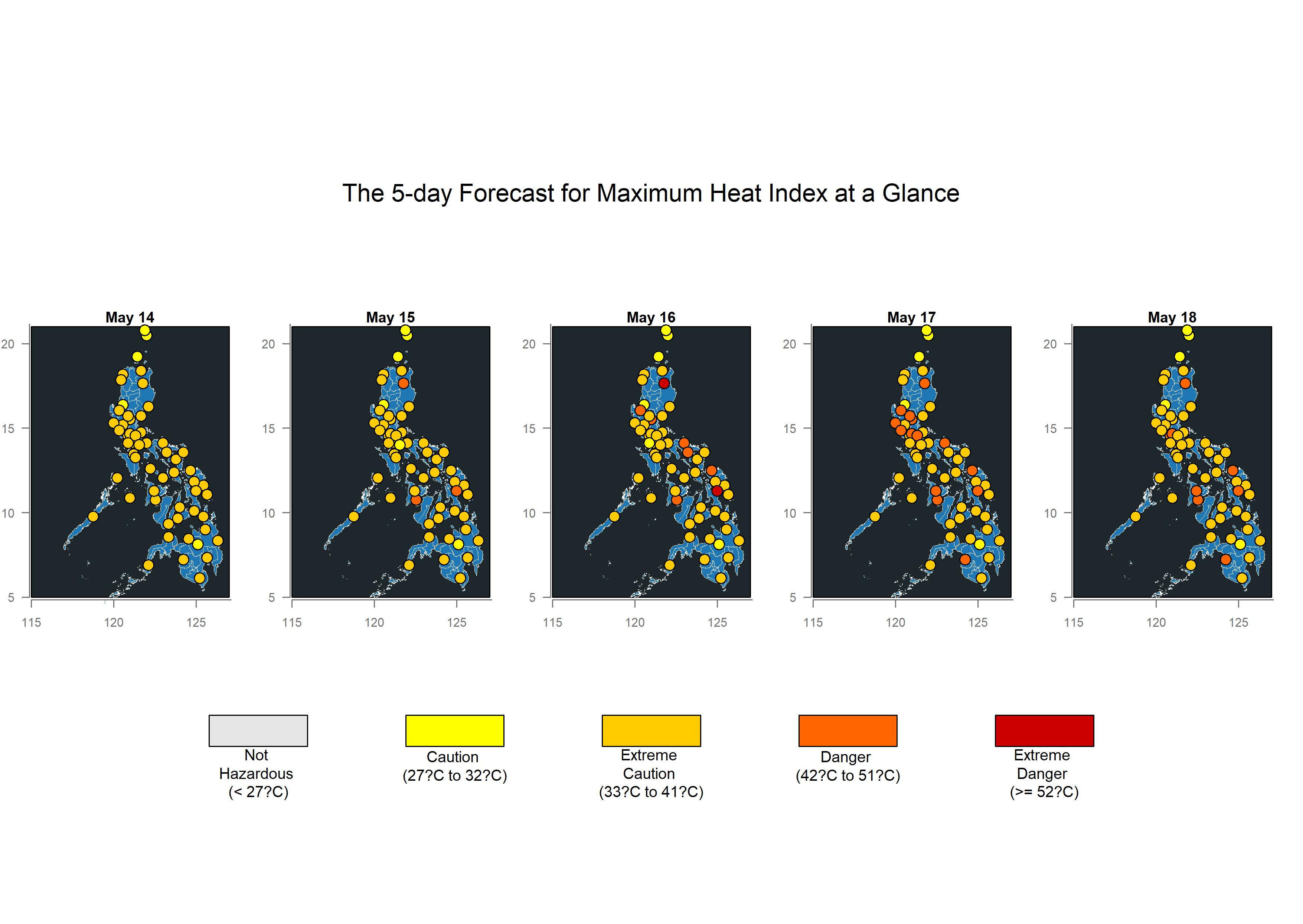 ForecastHeatIndexMap