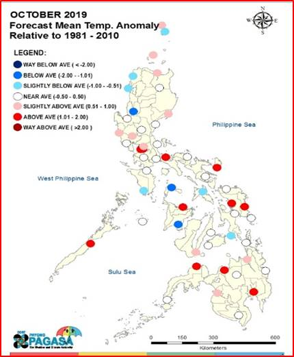 Climate Map Of The Philippines Pagasa PAGASA